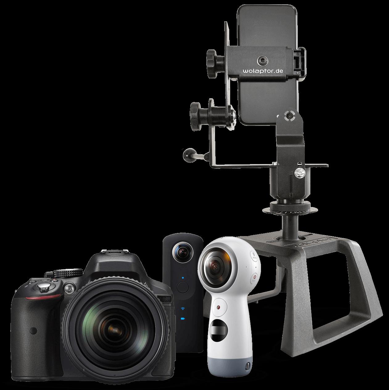360 Grad Kamera, Handy und wolaptor